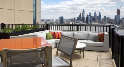 Rooftop Views of Philadelphia