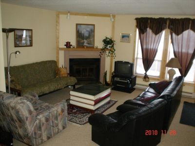 Photo for This Condo is at Big White Ski Resort - Ski Or Board to your Back Door!!
