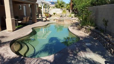 Photo for Palm Springs Private Pool, Spa, 4 Bedrooms, 2.5 Bath, 3 Car Garage Getaway!