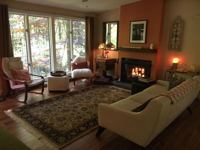 Photo for Woodstock - Beautiful Private Retreat with a Mid-Century Vibe