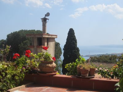 Photo for LARGE APPTMNT HEART OF HISTORIC TAORMINA,3FLOORS,3BEDROOMS 3 TERRACES  SEAVIEUW
