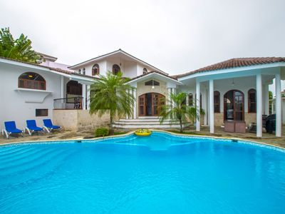 Photo for 5 bedroom Villa with amazing garden and pool