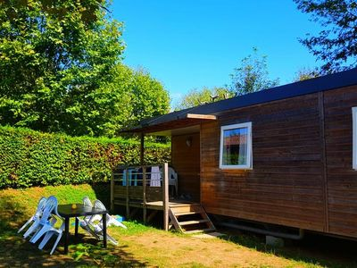 Photo for Camping La Grappe Fleurie - Cottage Loft 4 Rooms 6/8 People