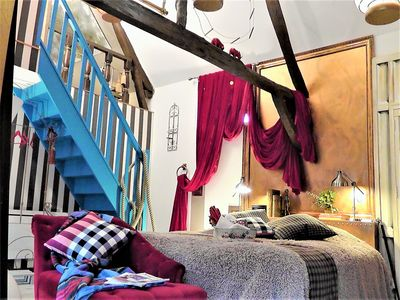 Photo for at 2, a guest house to the taste and color of imagination