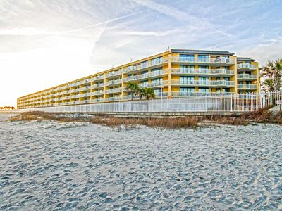 Photo for 201 Charleston Oceanfront Villa | Ocean & Pier View | Community Pools | Short Walk to Downtown