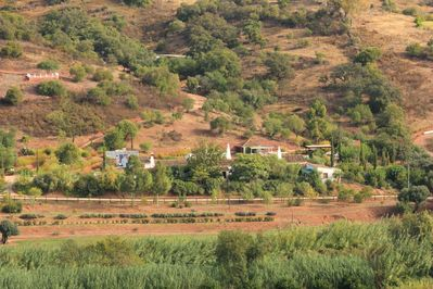 Fazendinha from across the valley 2014