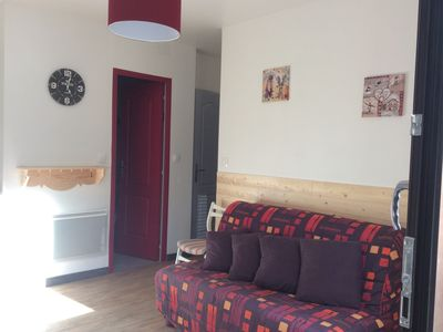 Photo for sunny apartment on the ground floor at 200m of all trade