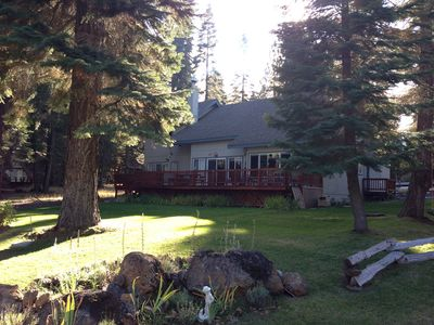 Photo for 3BR Cabin Vacation Rental in Lake Almanor, California