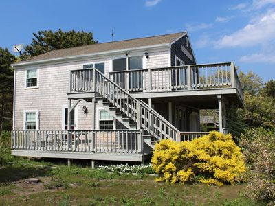 Photo for 3BD Indian Neck Beauty--A/C, Waterviews & Only Steps to Burton Baker Beach