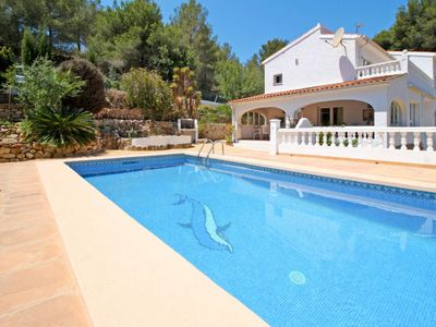 Photo for Vacation home Ferienhaus mit Pool (MRA230) in Moraira - 9 persons, 4 bedrooms