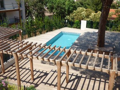 Photo for Modern, swimming pool, private parking, 3 bedrooms