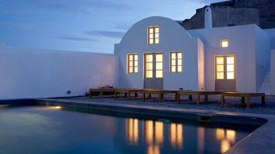 Photo for AN INVITATION OF NEW WORLD. Modern Design Villa Santorini 8br upto 18guests Private Pool