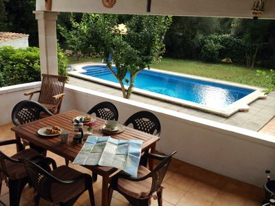Photo for Officially licensed lovely quiet villa close to Pollensa with fab private pool