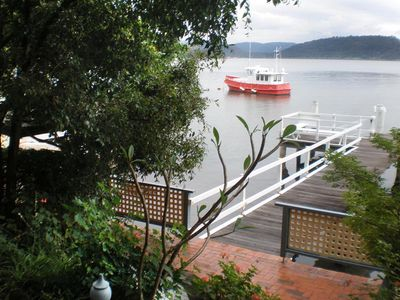 Photo for Breakaway 1 - A private & secluded cabin with deep waterfront jetty