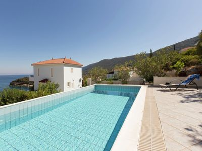 Photo for Holiday home with sea view and private pool