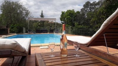 Photo for NICE HOME 8 PERS WITH SWIMMING POOL VIEW ON LAKE