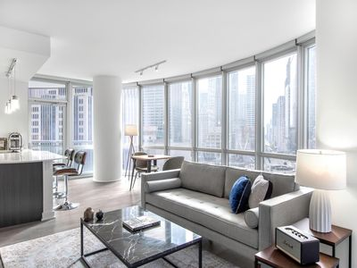 Photo for Stately Streeterville 2BR w/ Gym, Pool, W/D near Mag Mile, by Blueground