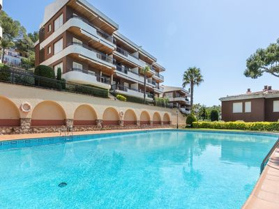 Photo for *** Llafranc Apartment *** 4 Bedroom Apt with pool, tennis court, sea views