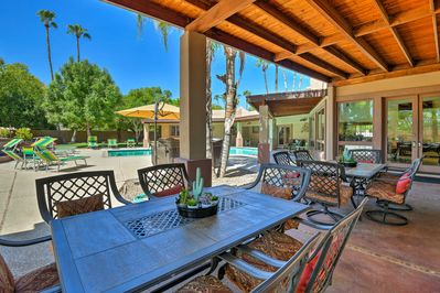 Make this oasis yours when you book this Scottsdale vacation rental villa.