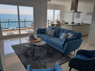 Photo for Luxurious & spacious sea facing apartment in Fuengirola center. Fantastic views!