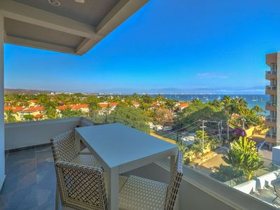 Photo for Beautiful La Cruz condo for rent with spectacular ocean view!