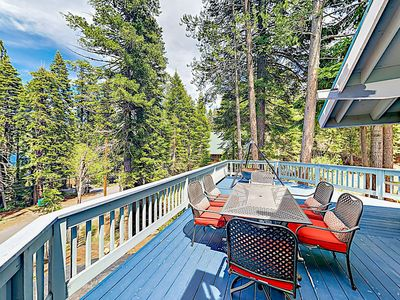 Photo for Secluded Home w/ Large Deck & Pool Table - 1 Mile to Beach, Near Ski Resorts