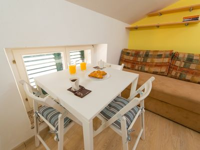 Photo for Cute little nest with a view, free WIFI, AC, terrace in a heart of Piran