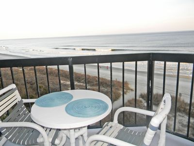 Photo for Oceanfront Condo! Great Views!!June 1st week available