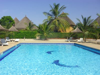 Photo for Saly: SUN and disorientation  assured in an african residential villa.