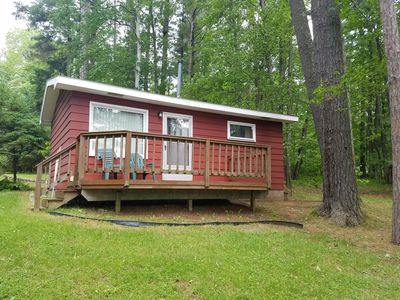 Photo for 1BR Cabin Vacation Rental in Arbor Vitae, Wisconsin