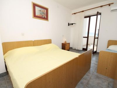 Photo for One bedroom apartment near beach Metajna, Pag (A-6466-f)