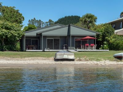 Photo for LOUNGE TO LAWN TO LAKE - WATERFRONT