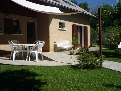 Photo for Embrun-Baratier Apartment with garden 2 to 6 people
