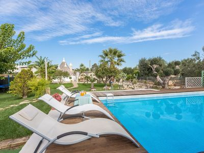 Photo for 2BR Country House / Chateau Vacation Rental in San Michele salentino, Puglia