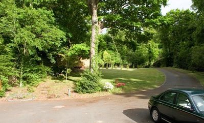Driveway Leading From Copse Road to Bungalow
