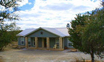 Photo for Relax and unwind in this open 3 Bedroom Home with gorgeous Hill Country View