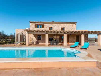 Photo for Holiday house, private pool, WIFI, air conditioning, 4 bedrooms, 2.5 baths