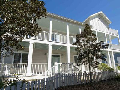 Photo for Right Across the Street from the Beach with Views | Steps to Beach & Pools!