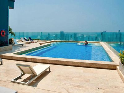 Photo for Elegant apartment with a stunning sea view in an exclusive area!
