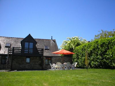 Photo for Woodland View Barn, South Brittany Cottage, free bikes, WiFi, near village.