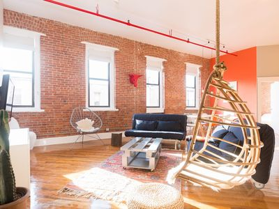 Photo for All New Bohemian Chic 2BR XL Loft in Greenpoint, Brooklyn