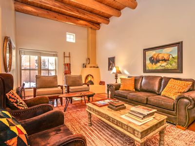 Photo for Villa VonDerAu is near Taos Plaza, hot tub and upstairs deck for star gazing