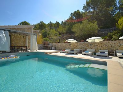 Photo for Modern country house with panoramic views of the Sierra de Tramuntana