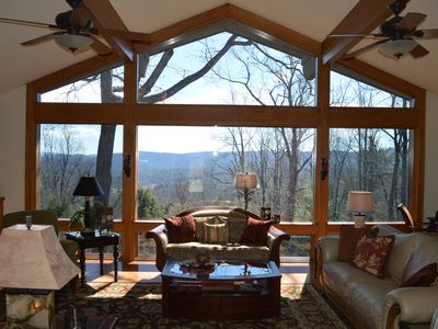 Photo for 4 Bdrm Premier Mountain Home in Hendersonville  - Huge Hot Tub,  Great Views