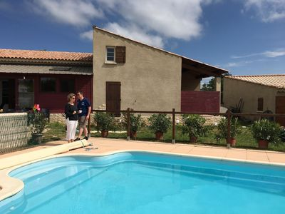 Photo for Holiday house for 8 people with family or friends, with 2 terraces