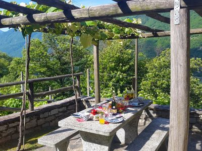 Photo for Vacation home Cà Sulìva  in Malvaglia, Ticino - 4 persons, 2 bedrooms