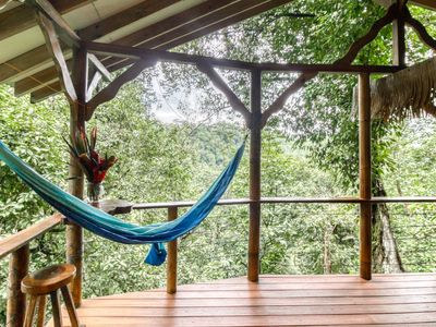 Photo for Naturalist-owned, treetop getaway w/ a full kitchen near waterfalls