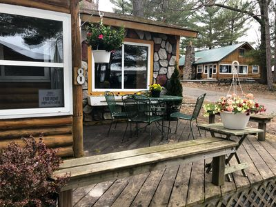 Photo for Cute and cozy completely remodeled Otsego Lake cabin! Golf, ski, shop Gaylord Mi