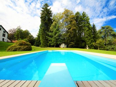 Photo for VILLA SILVANA 6BR-heated pool&lake view by KlabHouse
