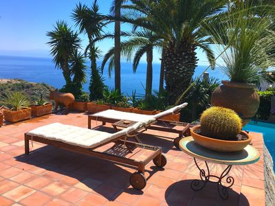 Photo for PANORAMIC SUITE Pool Sea View Terrace Taormina
